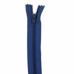 Fermeture 20cm bleu foncé