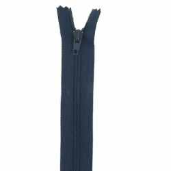 Fermeture 20cm bleu profond
