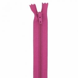 Fermeture 20cm framboise