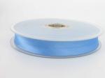 biais satin 20 mm bleu