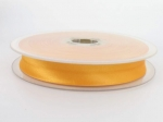 biais satin 20 mm orange clair