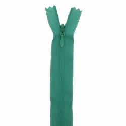 fermeture invisible 40 cm vert sapin