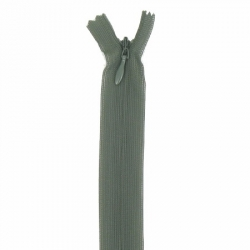 fermeture invisible 60 cm vert kaki