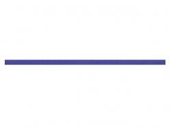 elastique rond 3 mm violet