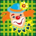 Canevas Clown