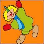 Canevas Clown 2