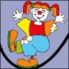 Canevas Clown 3