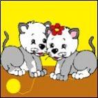 Canevas Couple Chat
