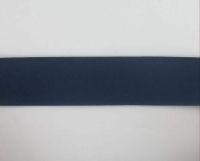 Biais textiles 40 mm bleu foncé