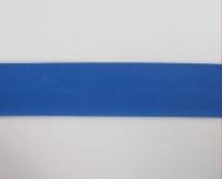 Biais textiles 40 mm bleu