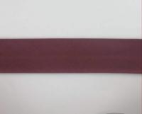 Biais textiles 40 mm bordeaux