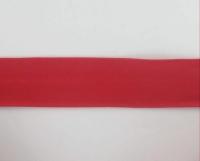 Biais textiles 40 mm rouge