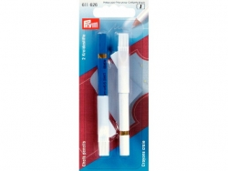 Crayon craie blanc / bleu