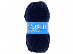 Laine azurite Bleu Marine
