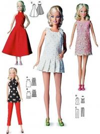 Patron habits de poupée