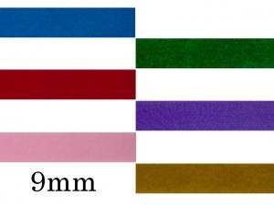 Ruban velours 9mm