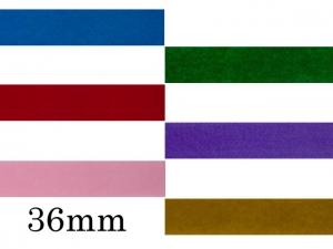Ruban velours 36mm