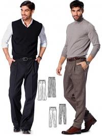 Patron pantalon
