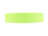 Sangle Coton 23mm vert pomme