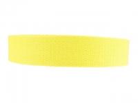 Sangle Coton 23mm jaune