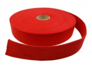 Sangle Coton 30mm rouge