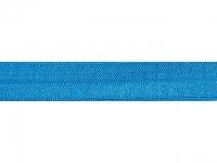 Biais élastique pré plié 15mm Turquoise