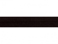 Biais élastique pré plié 15mm Noir