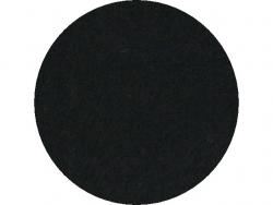 Carré de feutrine 30 x 23 cm noir