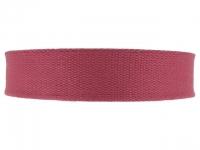 Sangle Coton 23mm bordeaux