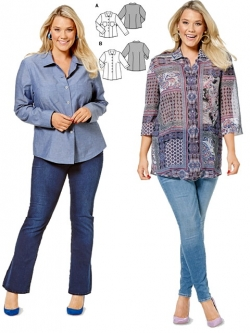 Patron blouse 6614