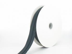 Fermeture au mètre N°3 + 20 curseurs gris anthracite