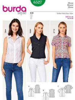 Patron blouse 6527