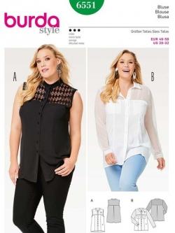 Patron blouse 6551