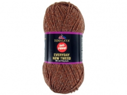 Fil à tricoter Everyday New Tweed caramel 124