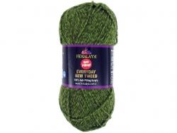 Fil à tricoter Everyday New Tweed vert 106