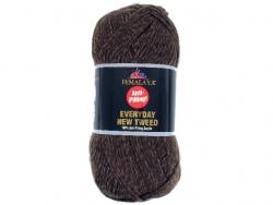 Fil à tricoter Everyday New Tweed marron 110