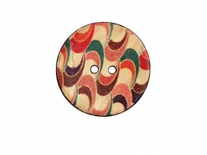 Boite de 2 boutons vêtements ø 25 mm