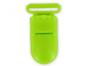 Clips plastique anis