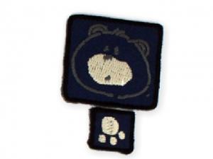 Écusson ~ 3 x 3 cm (2Pcs)