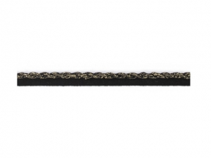 Galon tressé sur ruban 10 mm