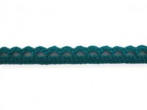 Dentelle coton 10 mm Turquoise