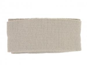 x3 Bord côte ceinture beige
