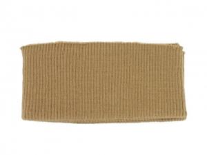 x3 Bord côte ceinture chameau