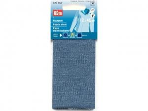 x5 Thermocollant percale Jeans Bleu moyen