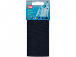 x5 Thermocollant percale Bleu marine