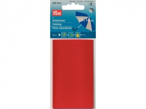 Autocollant percale rouge