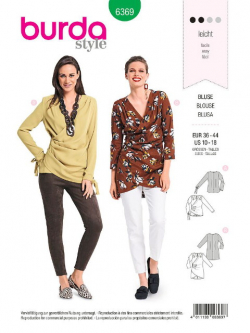 Patron Burda 6369 Blouse