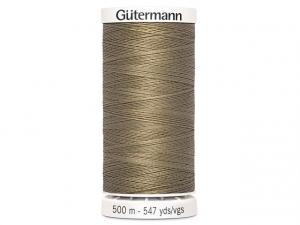 Fil à coudre Gütermann 500m col : 208 brun