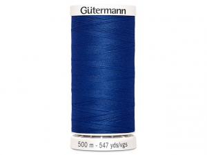 Fil à coudre Gütermann 500m col : 214 bleu roy