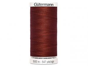 Fil à coudre Gütermann 500m col : 227 cuivre